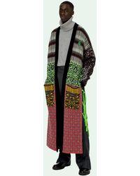 Off-White c/o Virgil Abloh Persian Fantasy Kimono - Black