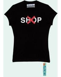 Off-White c/o Virgil Abloh - グラフィック Tシャツ - Lyst
