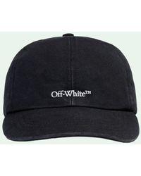 Off-White c/o Virgil Abloh Casquette à logo brodé - Noir