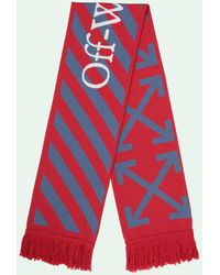 Off-White c/o Virgil Abloh Arrows Scarf - Red