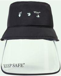 Off-White c/o Virgil Abloh - Mask Bucket Hat - Lyst