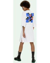 Off-White c/o Virgil Abloh - Vestito modello T-shirt - Lyst