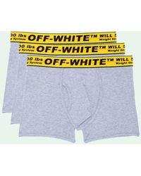 Off-White c/o Virgil Abloh - Pack de tres bóxeres Industrial - Lyst
