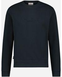 Woolrich Regular-fit Fleece Trui - Blauw