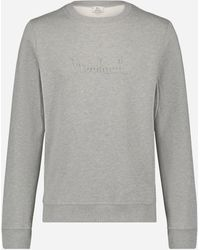 Woolrich Regular-fit Fleece Trui - Grijs