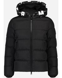 Moncler - Regular-fit 'dubois' Donsjacket Zwart - Lyst
