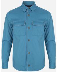 Loro Piana - Storm System® Blouson Jacket Lichtblauw - Lyst