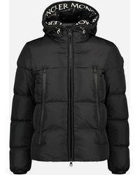 Moncler Regular-fit 'montcla' Donsjacket Zwart