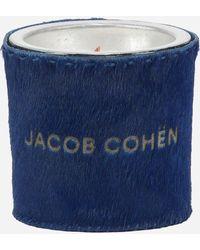 Jacob Cohen Jacob Cohën Ponyhaar Geurkaars - Blauw