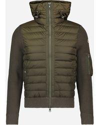 Moncler Gewatteerd Winddicht Sport Jacket Donkergroen
