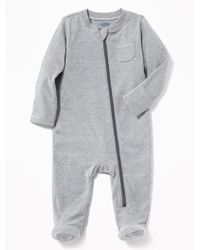 Old Navy - Footed One-piece - Lyst