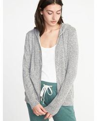Old Navy - Relaxed Plush-knit Sleep Hoodie - Lyst