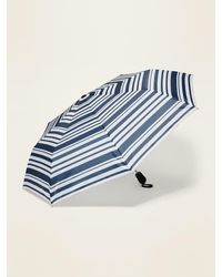 Old Navy Compact Automatic Umbrella - Blue