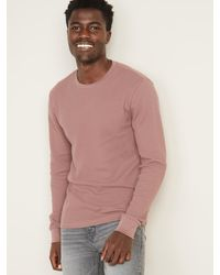 Old Navy Soft-washed Thermal-knit Tee For Men - Multicolor