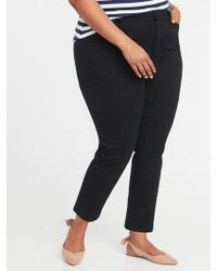 Old Navy - Mid-rise Plus-size Pixie Chinos - Lyst