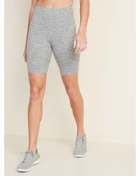 Old Navy High-waisted Elevate Compression Bermudas - Grey