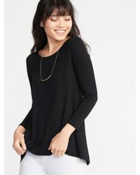 Old Navy - Luxe Swing Tee - Lyst