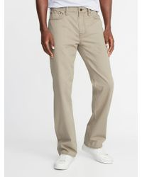 Old Navy - Loose Twill Five-pocket Pants - Lyst