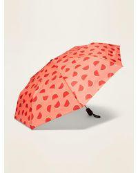 Old Navy Compact Automatic Umbrella - Multicolour