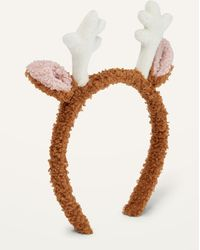 Old Navy Cozy Christmas Reindeer Headband For Adults - Multicolor