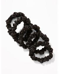 Old Navy Mini-scrunchie 5-pack For Women - Black