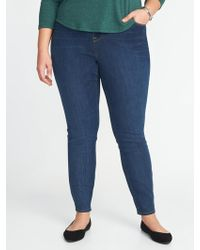 Old Navy - High-rise Plus-size Rockstar Pull-on Jeggings - Lyst