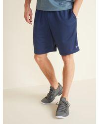Old Navy Go-dry Mesh Performance Shorts - Blue