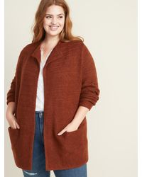 Old Navy Relaxed Plus-size Cardi-coat - Multicolor