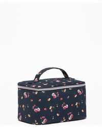 Old Navy - Printed Zip-top Canvas Cosmetic Case - Lyst