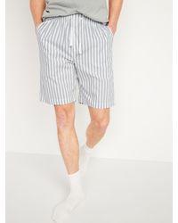 Old Navy Poplin Pyjama Shorts - Grey