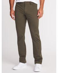 Old Navy Slim Go-dry Built-in Flex Performance Pants - Multicolor