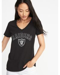 Old Navy - Nfl® Team Graphic V-neck Tee - Lyst
