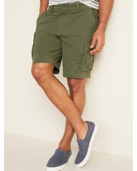 Old Navy Lived-in Straight Cargo Shorts - Green