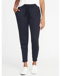 Old Navy Mid-rise Sweater-knit Jogger Pants - Blue