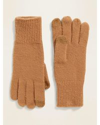 Old Navy Text-friendly Sweater-knit Gloves For Women - Multicolor