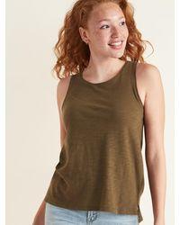Old Navy Everywear Slub-knit Tank Top - Green