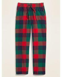 Old Navy Plaid Flannel Pajama Pants - Multicolor