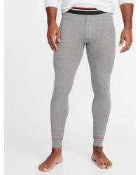Old Navy - Thermal-knit Long-john Pants - Lyst