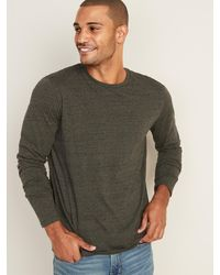 Old Navy Soft-washed Crew-neck Long-sleeve Tee For Men - Multicolor