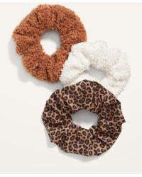 Old Navy Hair Scrunchie 3-pack - Brown