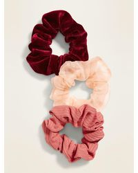 Old Navy Hair Scrunchie 3-pack - Red