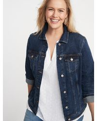 Old Navy Classic Plus-size Jean Jacket - Blue