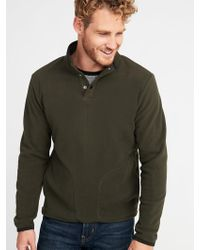 fa5d2825058e Lyst - Old Navy Go-warm Performance Fleece 1 4-zip Pullover in Gray ...