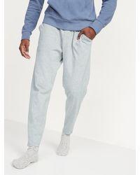 Old Navy Tapered Jersey-knit Pyjama Pants - Grey