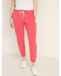 Old Navy French-terry Sweatpants For Women - Pink