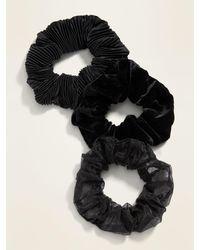 Old Navy Hair Scrunchie 3-pack - Black