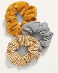 Old Navy Hair Scrunchie 3-pack - Metallic