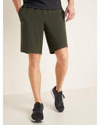 Old Navy Go-dry Shade Hybrid Jogger Shorts - Green