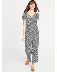 42286dbec07d6 Lyst - Isabella Oliver 'rosliston' Maternity Jumpsuit in Black
