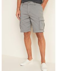 Old Navy Lived-in Straight Cargo Shorts - Grey